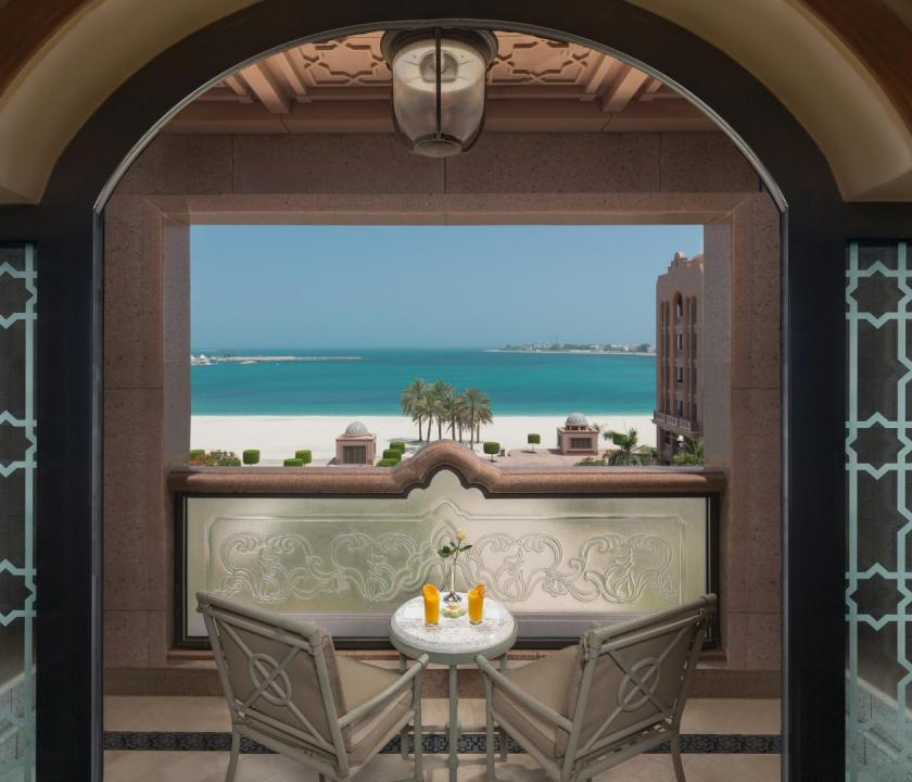 Emirates Palace / Diamond room - balkon (Dubai utazások)