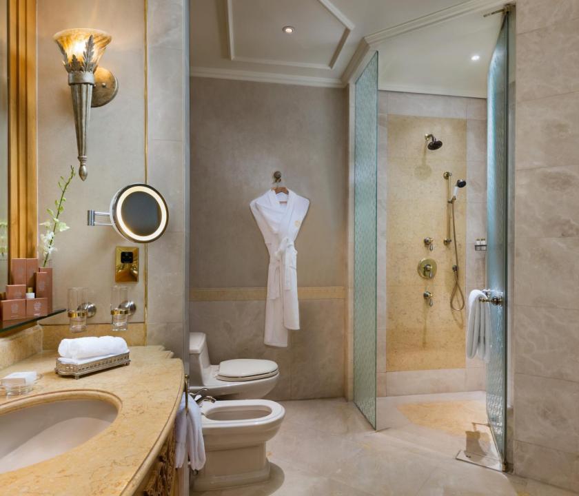 Emirates Palace / Diamond room - fürdőszoba (Dubai utazások)