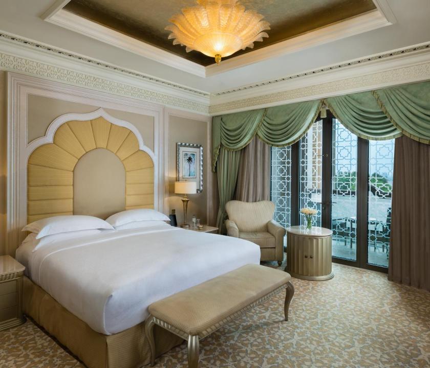 Emirates Palace / Khaleej suite - hálószoba (Dubai utazások)