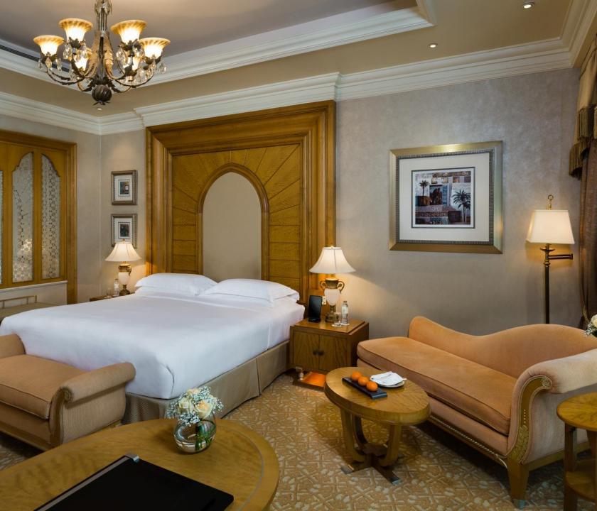 Emirates Palace / Pearl room - hálószoba (Dubai utazások)
