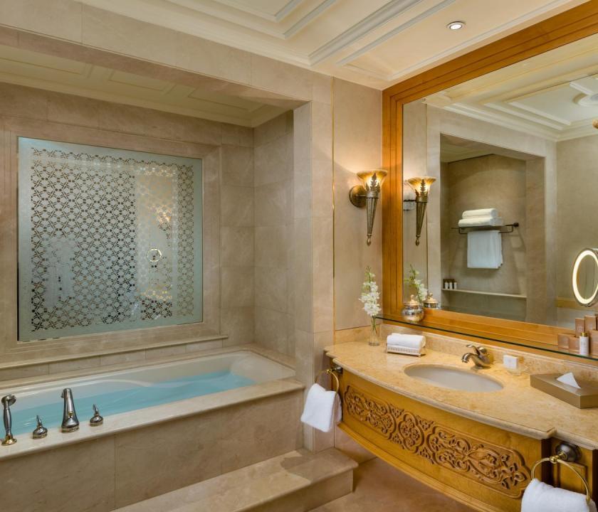 Emirates Palace / Pearl room - fürdőszoba (Dubai utazások)
