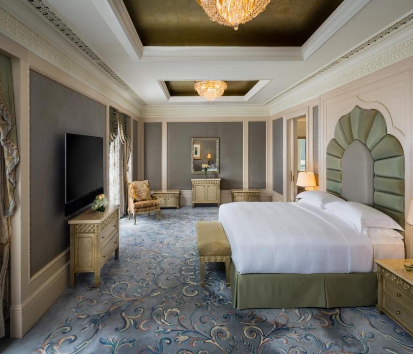 Emirates Palace / Royal Khaleej suite - hálószoba (Dubai utazások)