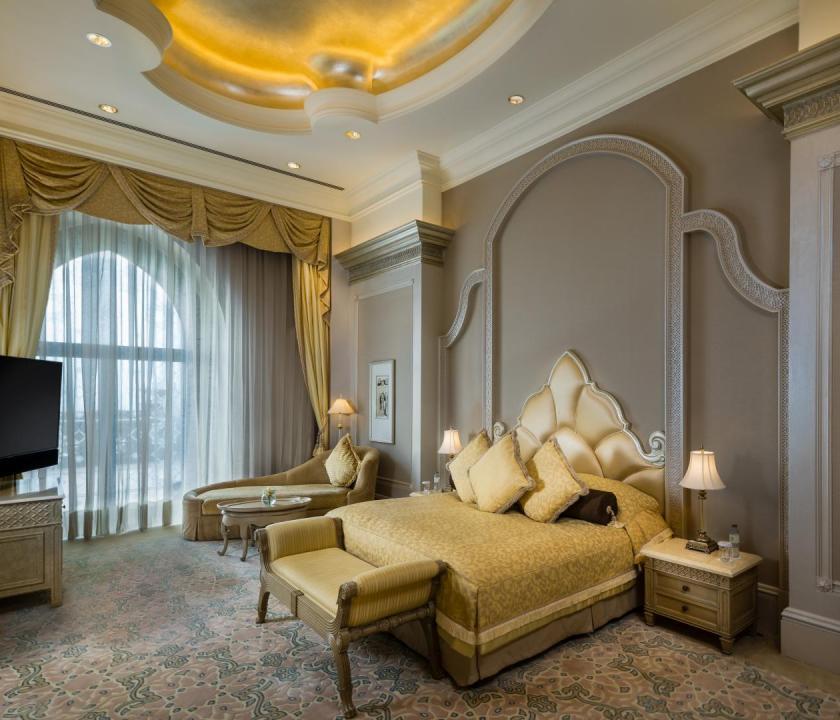Emirates Palace / Two bedroom Palace suite - hálószoba (Dubai utazások)