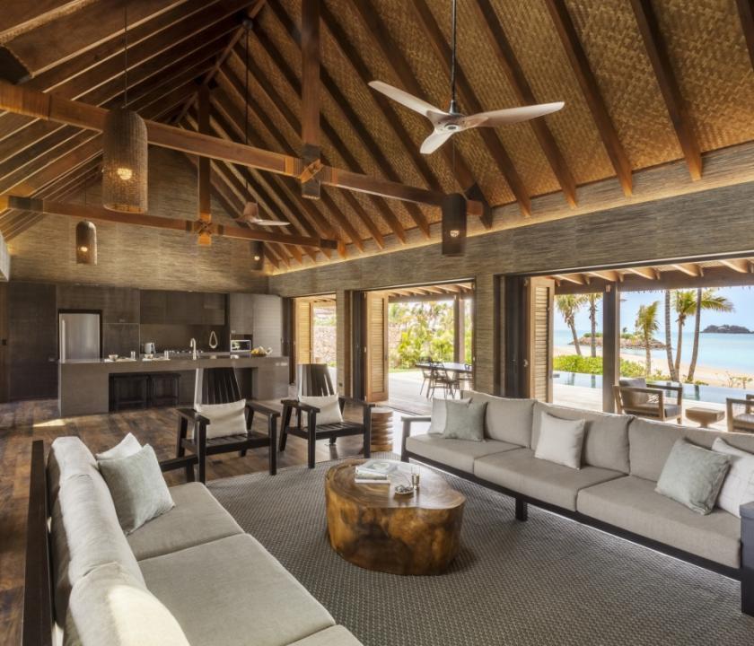 Six Senses Fiji / 4 Bedroom Beachfront Pool Residence (Fidzsi-szigeteki (Fiji) utazások)