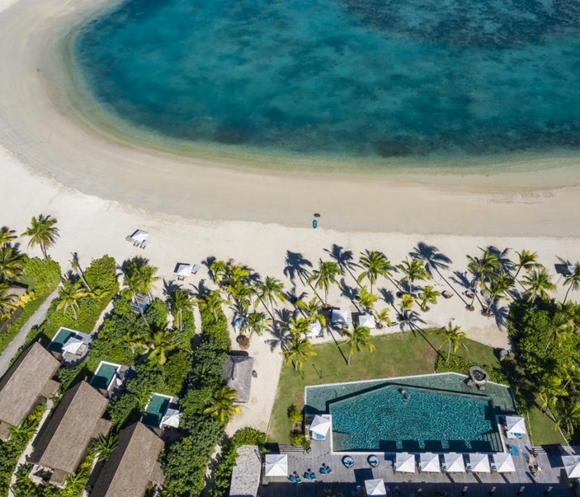 Six Senses Fiji / Beachfront Pool villa (Fidzsi-szigeteki (Fiji) utazások)