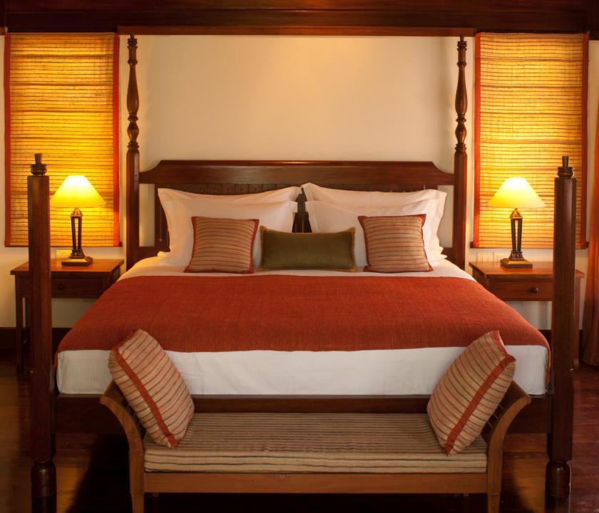 JA Enchanted Island Resort / Enchanted signature villa - hálószoba (Seychelle szigeteki utazások)