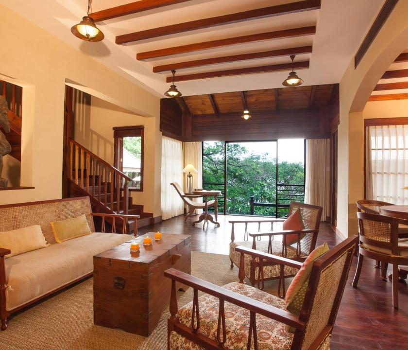 JA Enchanted Island Resort / Enchanted signature villa - nappali (Seychelle szigeteki utazások)
