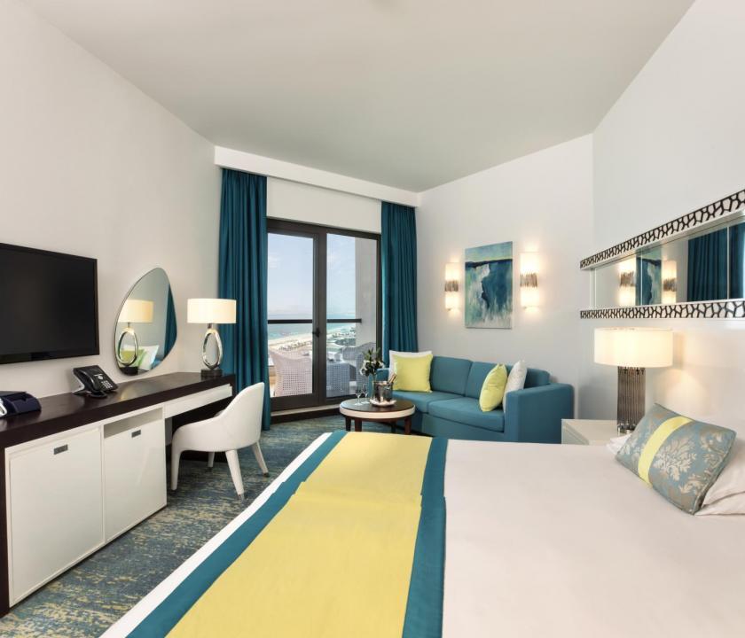 JA Ocean View Hotel / Seaview room - hálószoba (Dubai utazások)