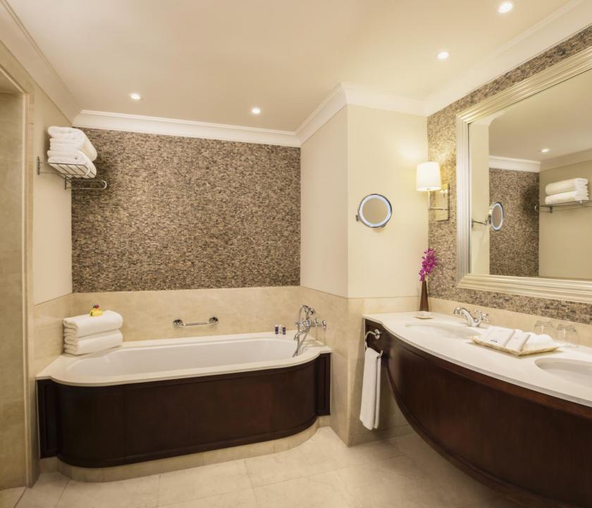JA Palm Tree Court Hotel / Garden terrace junior suite - fürdőszoba (Dubai utazások)