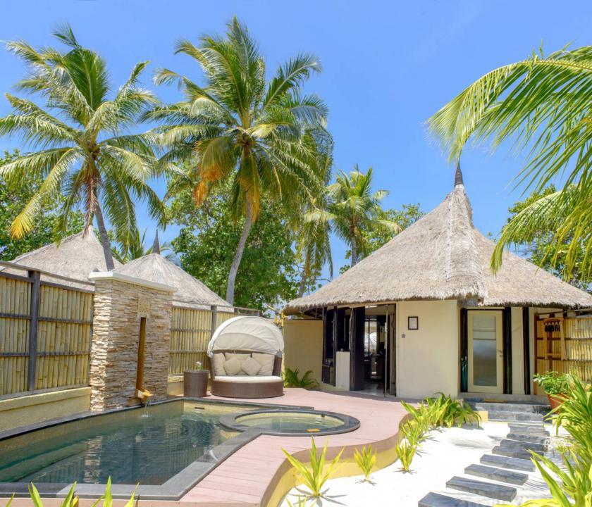 Banyan Tree Vabbinfaru / Oceanview Pool Villa (Maldív-szigeteki utazások)