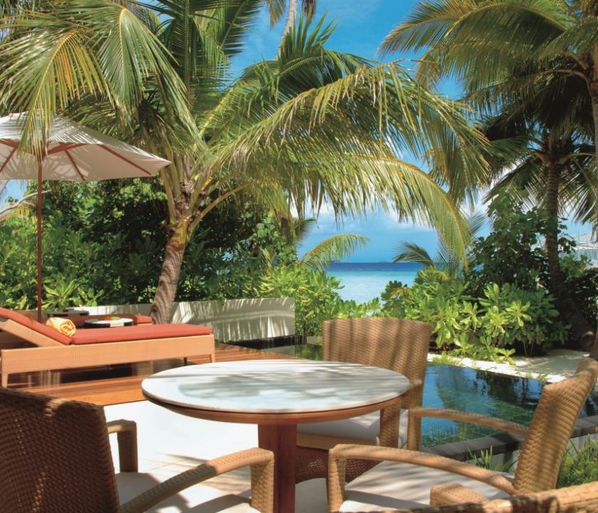 Constance Halaveli Maldives / Beach Villa (Maldív-szigeteki utazások)