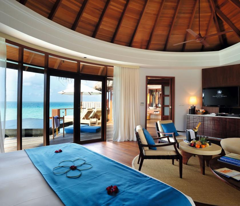 Constance Halaveli Maldives / Water Villa (Maldív-szigeteki utazások)