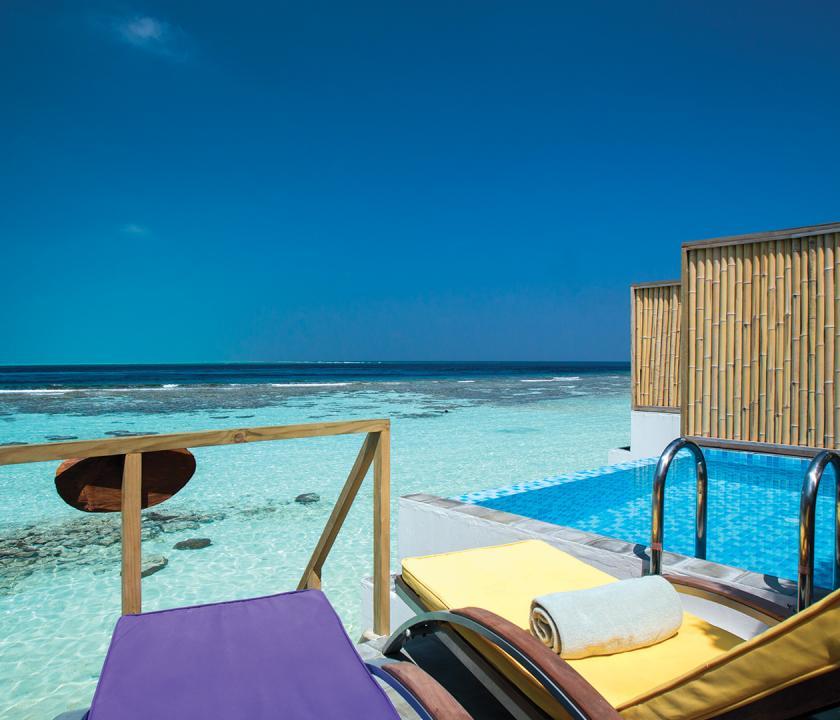 COOEE OBLU at Helengeli / Deluxe Lagoon Pool Villa (Maldív-szigeteki utazások)