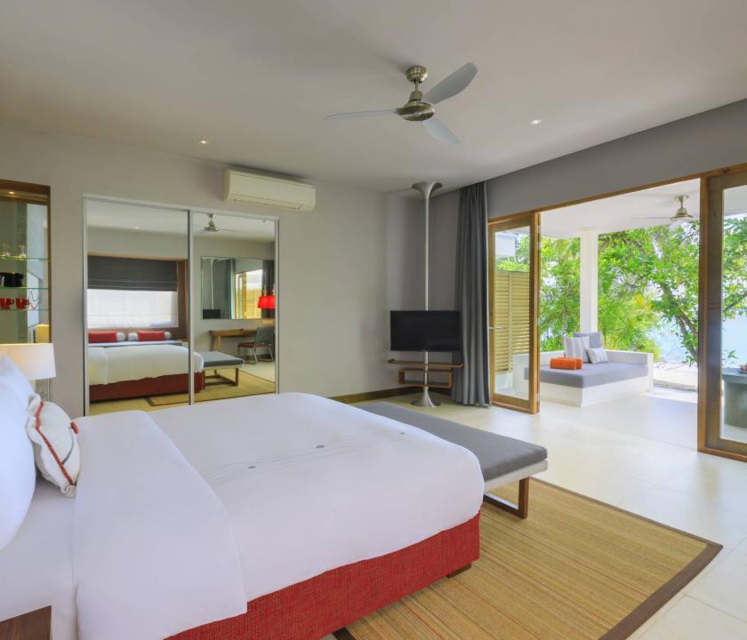Dhigali Maldives / Beach Villa (Maldív-szigeteki utazások)