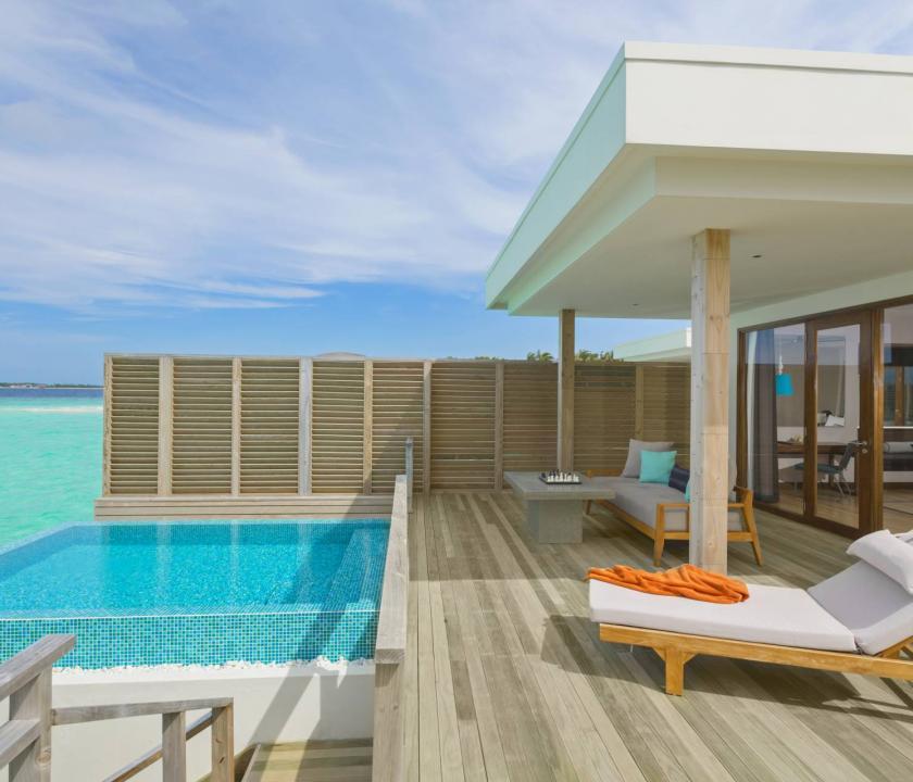 Dhigali Maldives / Lagoon Villa with Pool (Maldív-szigeteki utazások)