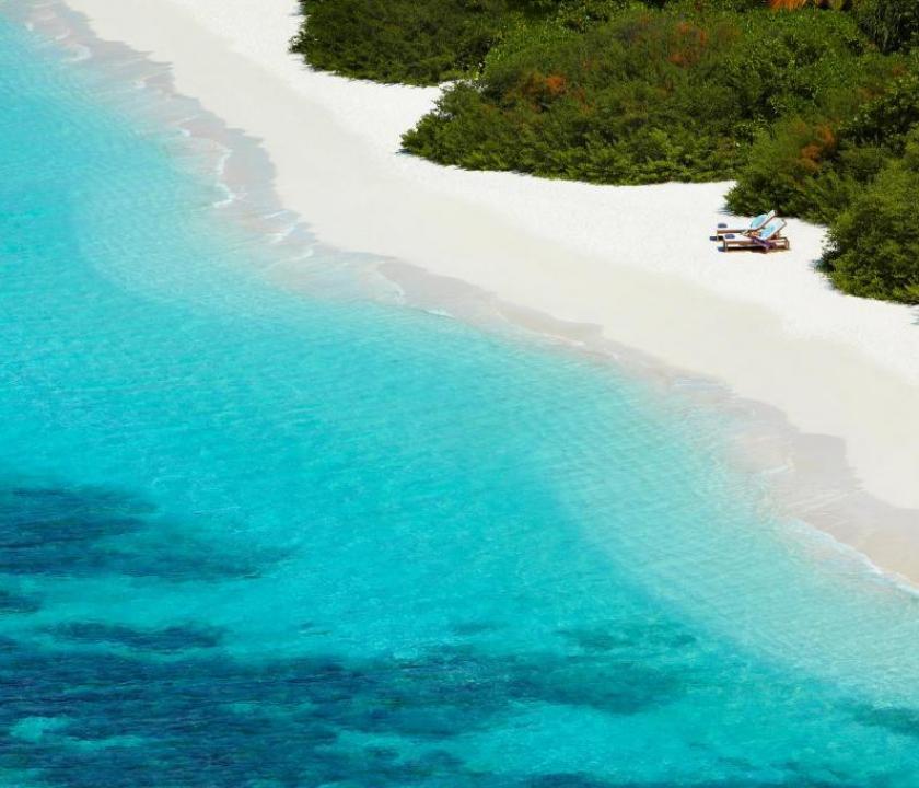 Dusit Thani Maldives / Beach Villa (Maldív-szigeteki utazások)
