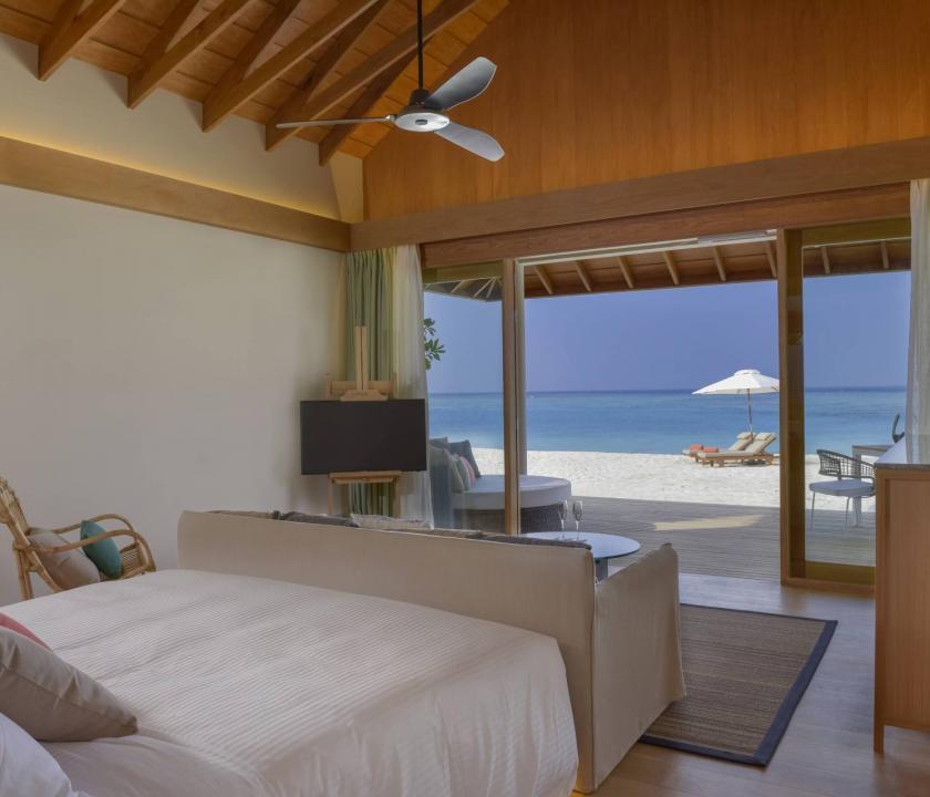 Faarufushi Maldives / Beach Bungalow (Maldív-szigeteki utazások)