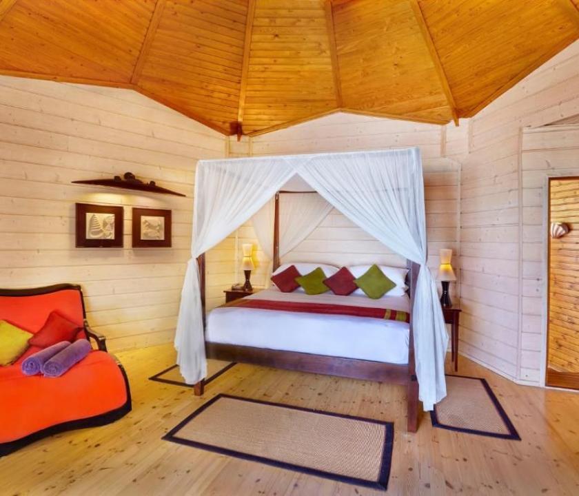 Komandoo Island Resort & Spa / Beach Villa (Maldív-szigeteki utazások)