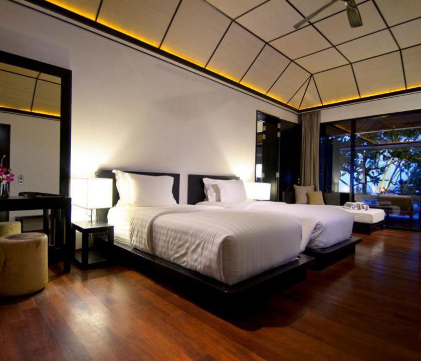 Lily Beach Resort & Spa / Beach Villa - hálószoba (Maldív-szigeteki utazások)