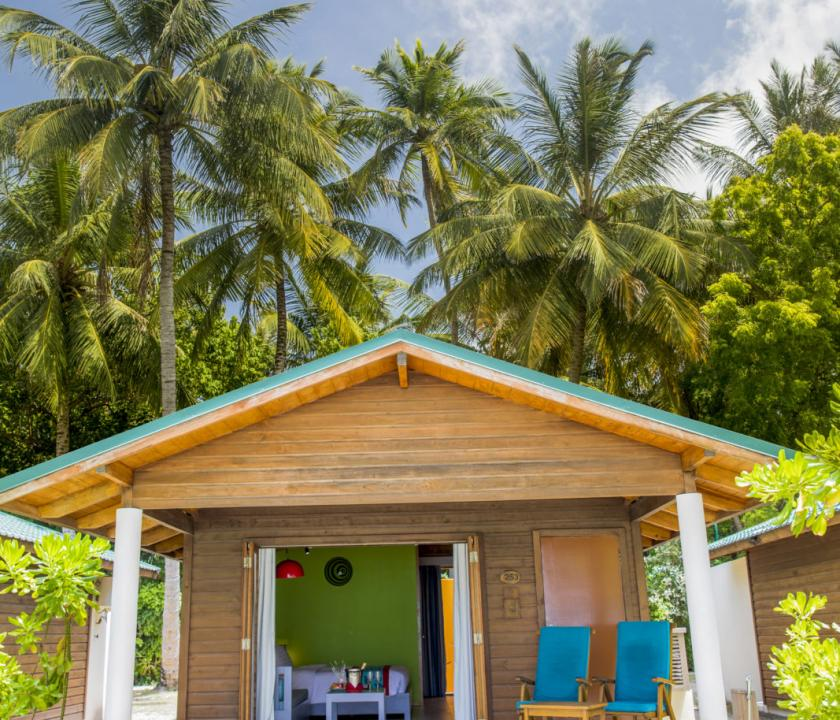Meeru Island Resort & Spa / Beach Villa (Maldív-szigeteki utazások)