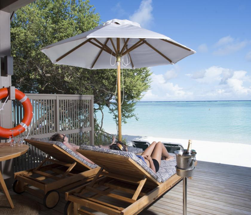 Meeru Island Resort & Spa / Water Front Villa (Maldív-szigeteki utazások)