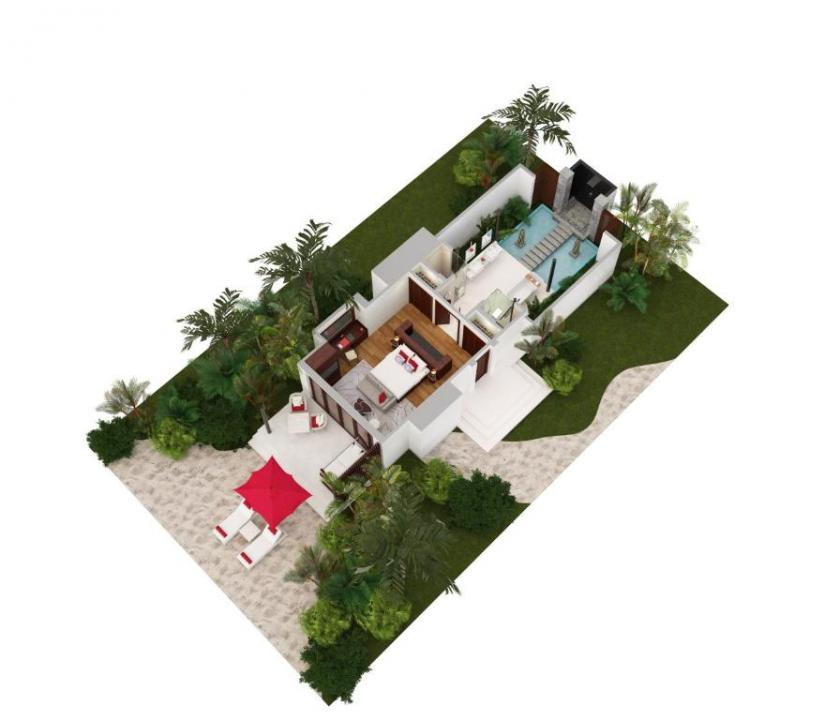 Niyama Private Islands Maldives / Beach Villa (Maldív-szigeteki utazások)