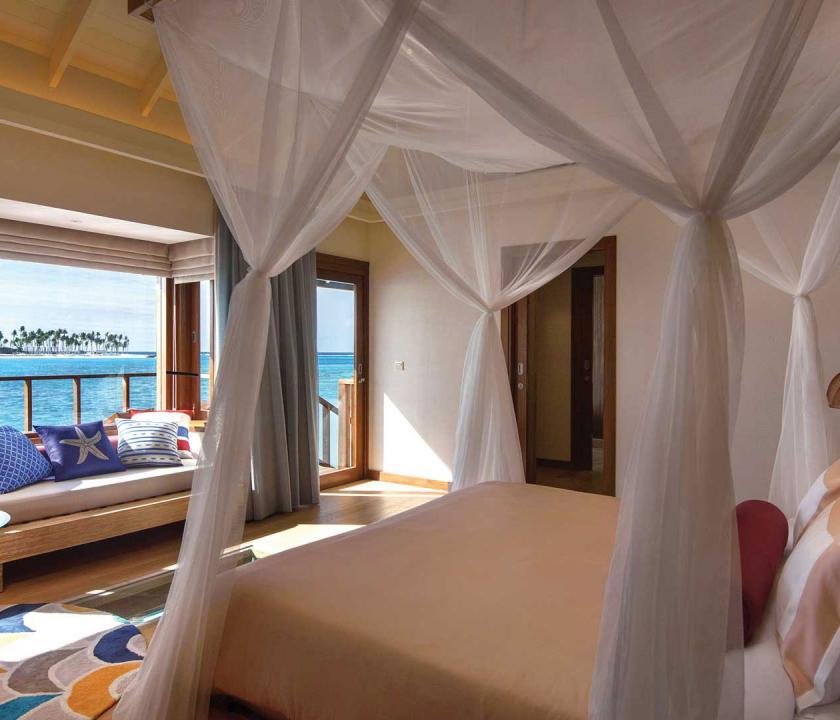 OBLU SELECT at Sangeli by Atmosphere / Water Villa with Pool - hálószoba (Maldív-szigeteki utazások)