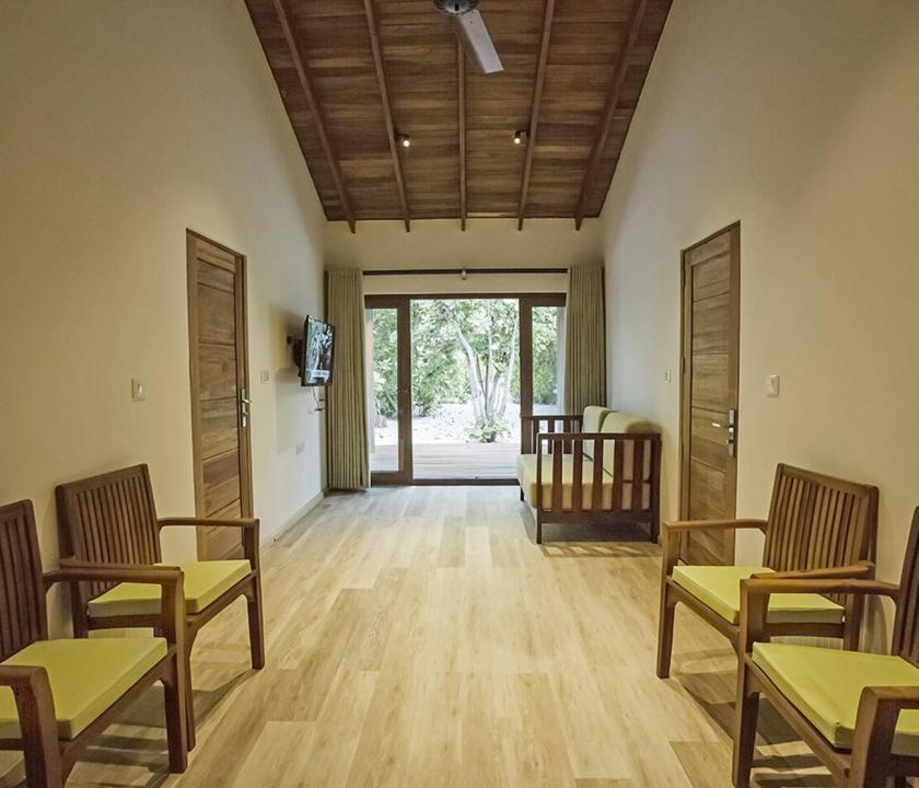 Reethi Faru Resort / Deluxe Two-bedroom Beach Suite (Maldív-szigeteki utazások)