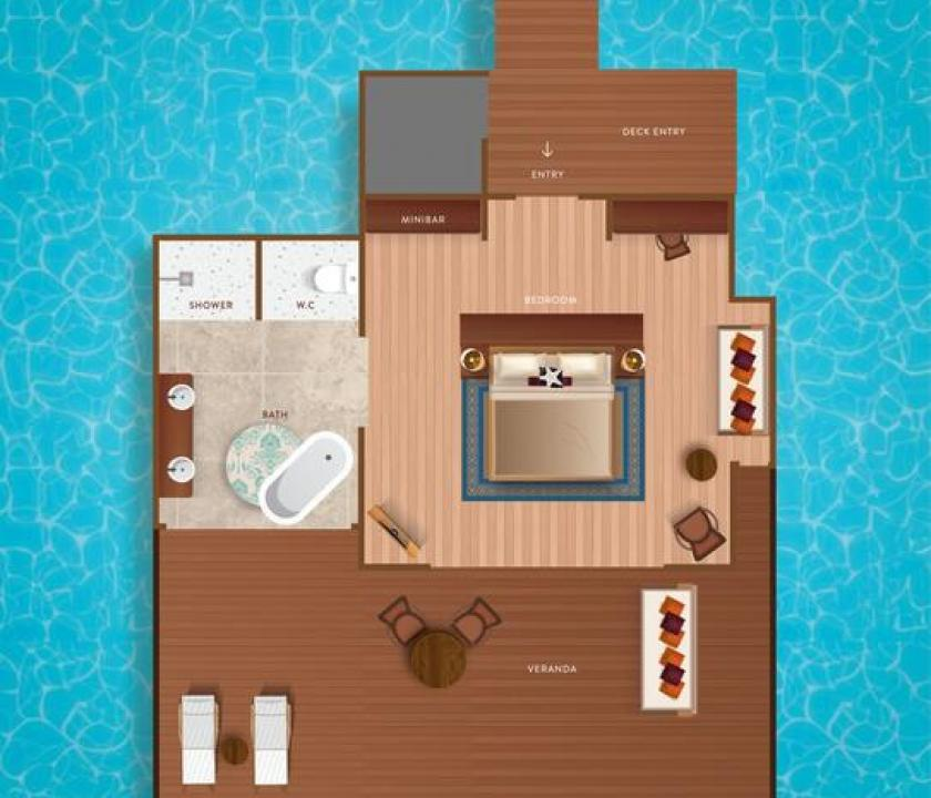 VARU by Atmosphere / Water Villa (Maldív-szigeteki utazások)