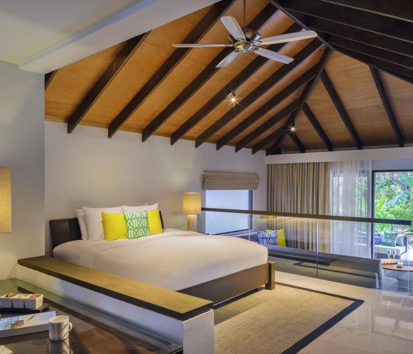 Velassaru Maldives / Deluxe Villa - hálószoba (Maldív-szigeteki utazások)