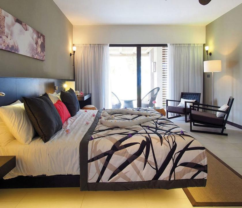 Maritim Crystals Beach Hotel / Superior Sea view room - hálószoba (Mauritiusi utazások)