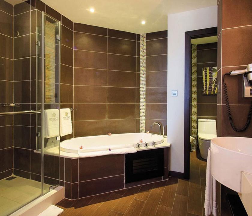 Maritim Crystals Beach Hotel / Superior Sea view room - fürdőszoba (Mauritiusi utazások)