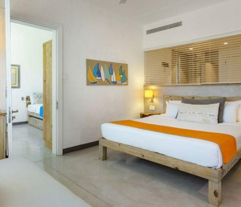 Zilwa Attitude / Family Deluxe room - hálószoba (Mauritiusi utazások)