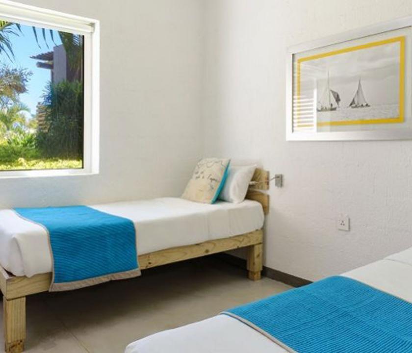 Zilwa Attitude / Family Apartment - hálószoba (Mauritiusi utazások)