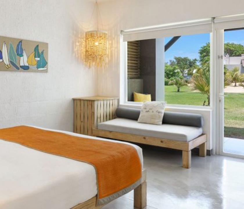 Zilwa Attitude / Superior room - kilátás a szobából (Mauritiusi utazások)