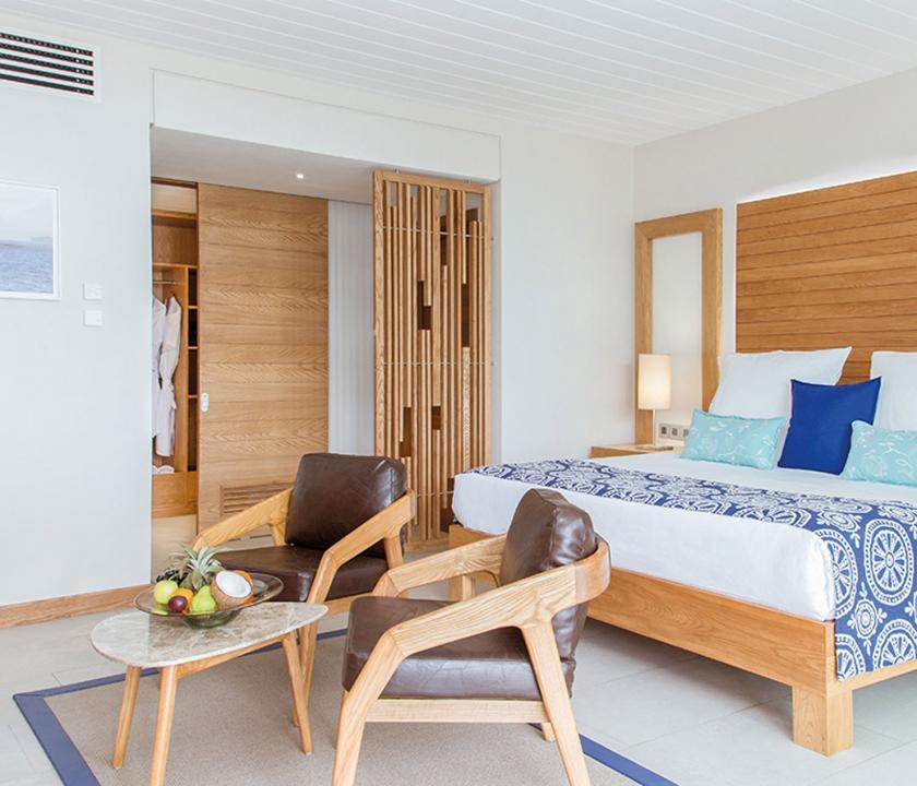 Paradis Beachcomber Golf Resort & Spa / Ocean Beachfront room - hálószoba (Mauritiusi utazások)