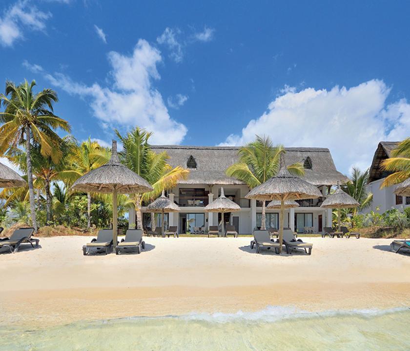 Paradis Beachcomber Golf Resort & Spa / Ocean Beachfront Suite - a suite kivülről (Mauritiusi utazások)