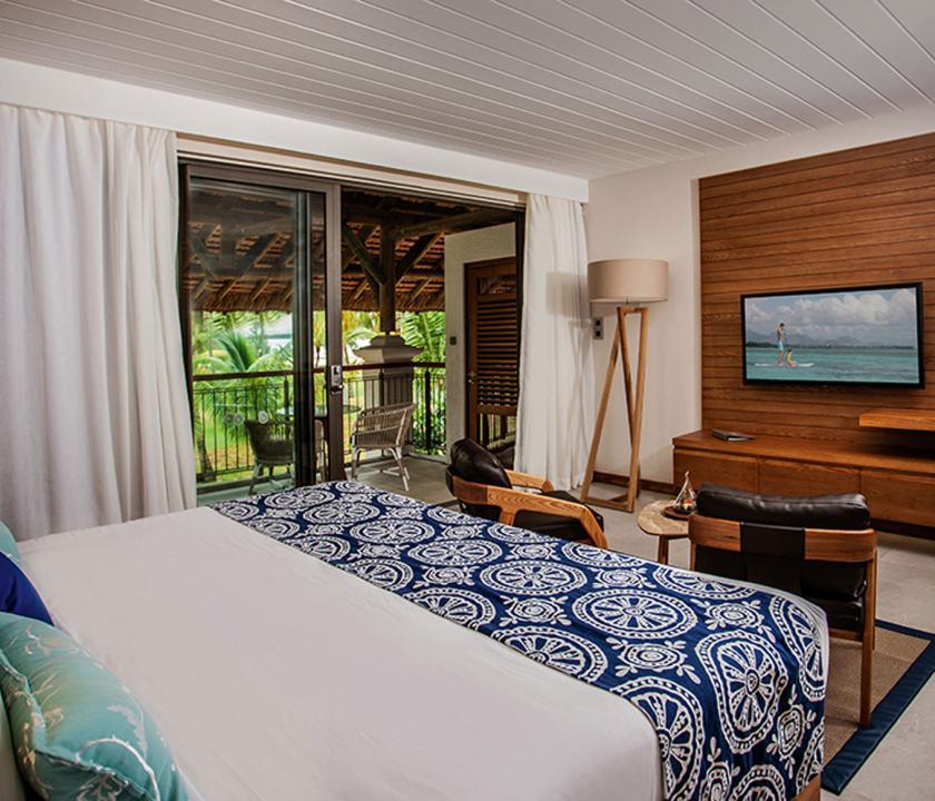 Paradis Beachcomber Golf Resort & Spa / Ocean room - hálószoba (Mauritiusi utazások)