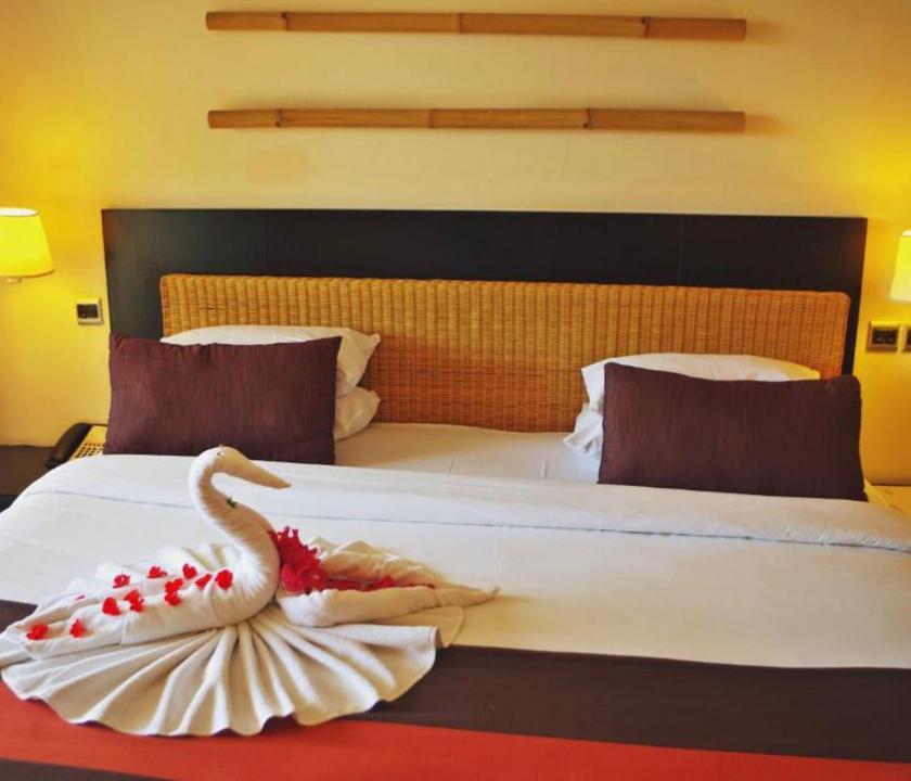 Pearle Beach Resort & Spa / Economy Standard room - hálószoba (Mauritiusi utazások)