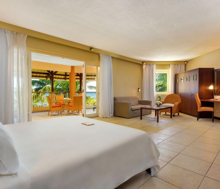 Victoria Beachcomber Resort & Spa / 2 Bedroom Family Apartment - hálószoba (Mauritiusi utazások)