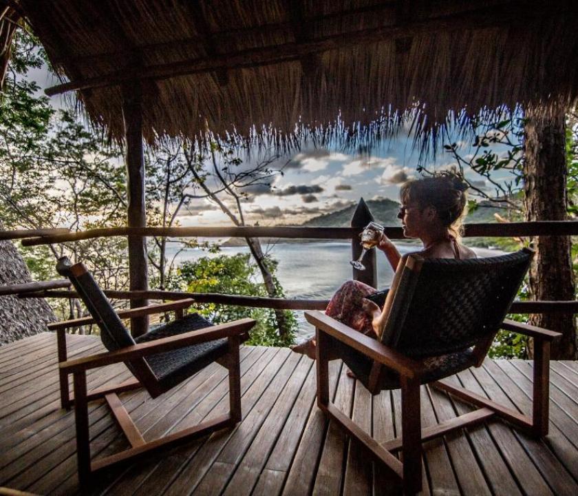 Morgan's Rock Hacienda & Ecolodge / Ocean View Bungallow (Nicaragua-i utazások)