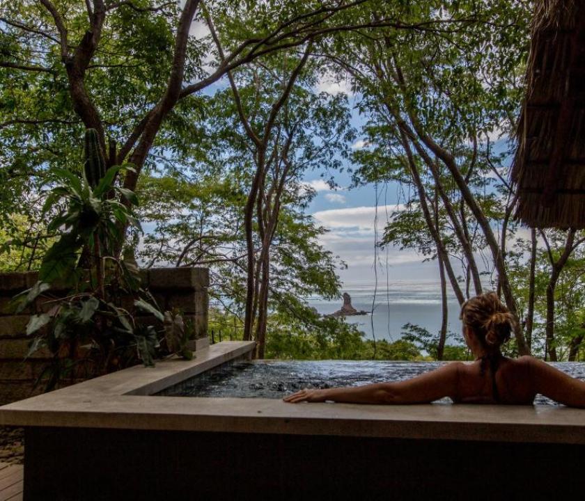 Morgan's Rock Hacienda & Ecolodge / Ocean View Bungallow with Plunge Pool (Nicaragua-i utazások)
