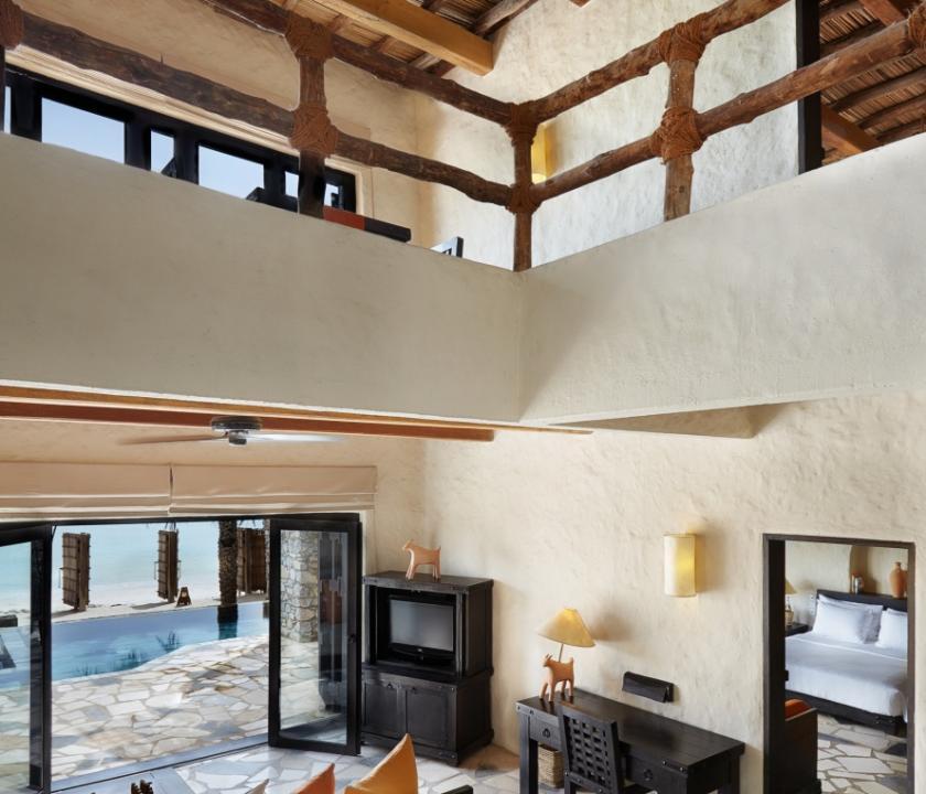 Six Senses Zighy Bay / Duplex 2 Bedroom Pool Villa Suite Beachfront (Ománi utazások)
