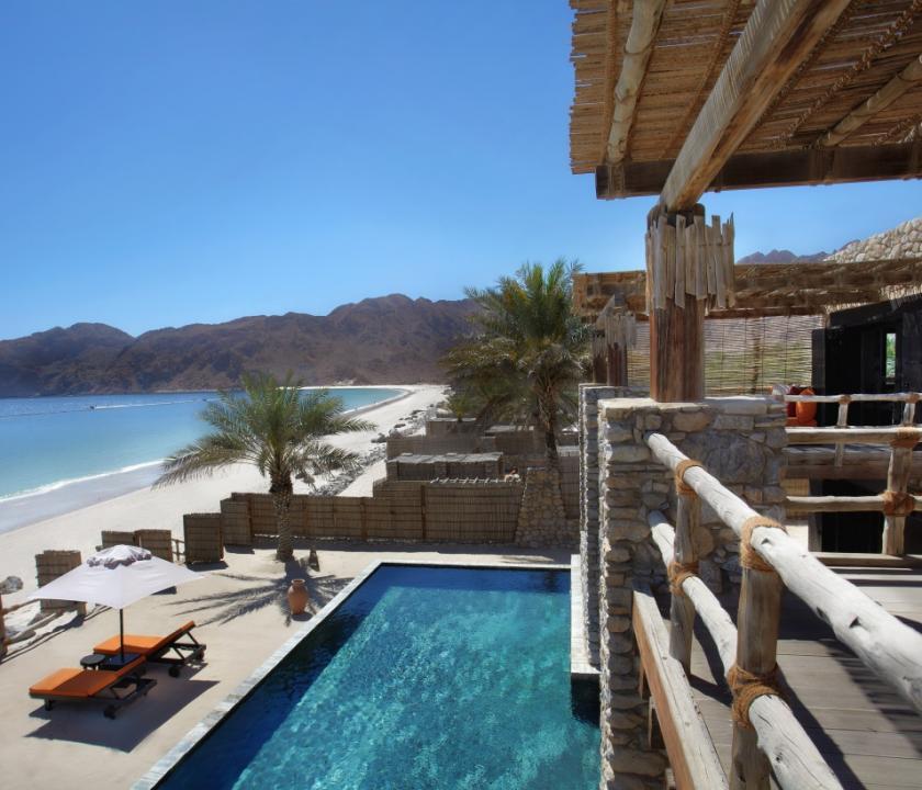 Six Senses Zighy Bay / 3 Bedroom Beachfront Retreat (Ománi utazások)