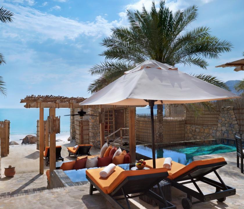 Six Senses Zighy Bay / Spa Pool Villa Beachfront (Ománi utazások)