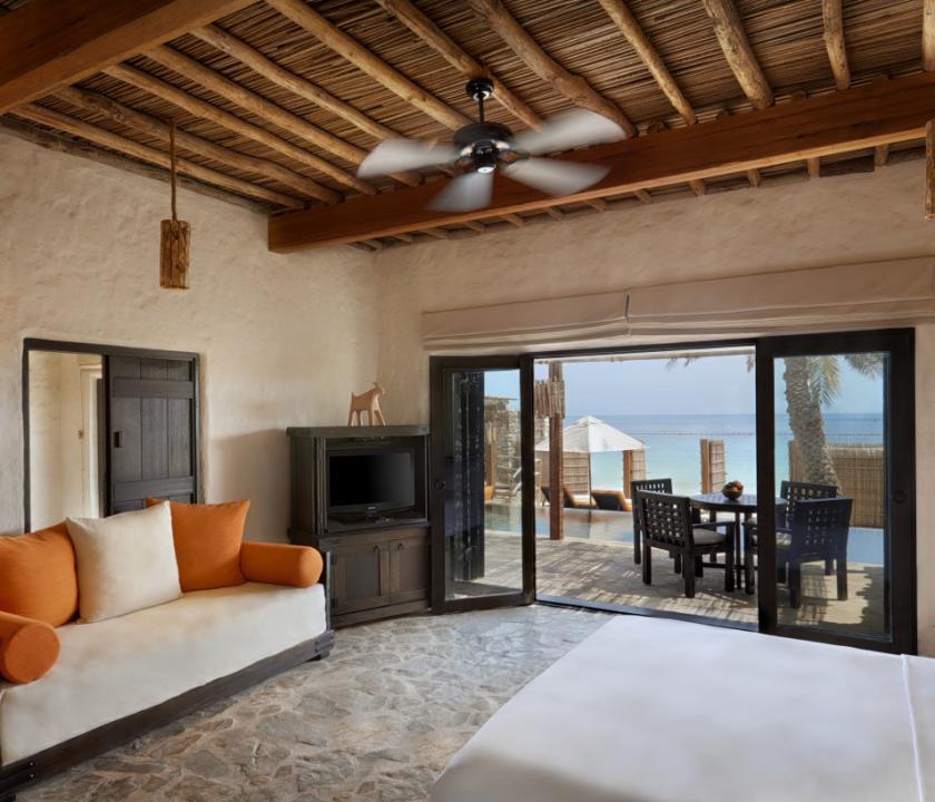 Six Senses Zighy Bay / Pool Villa Suite Beachfront (Ománi utazások)