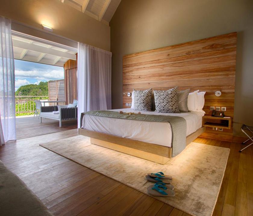 Carana Beach Hotel / Ocean view Pool Chalet - 2 (Seychelle szigeteki utazások)