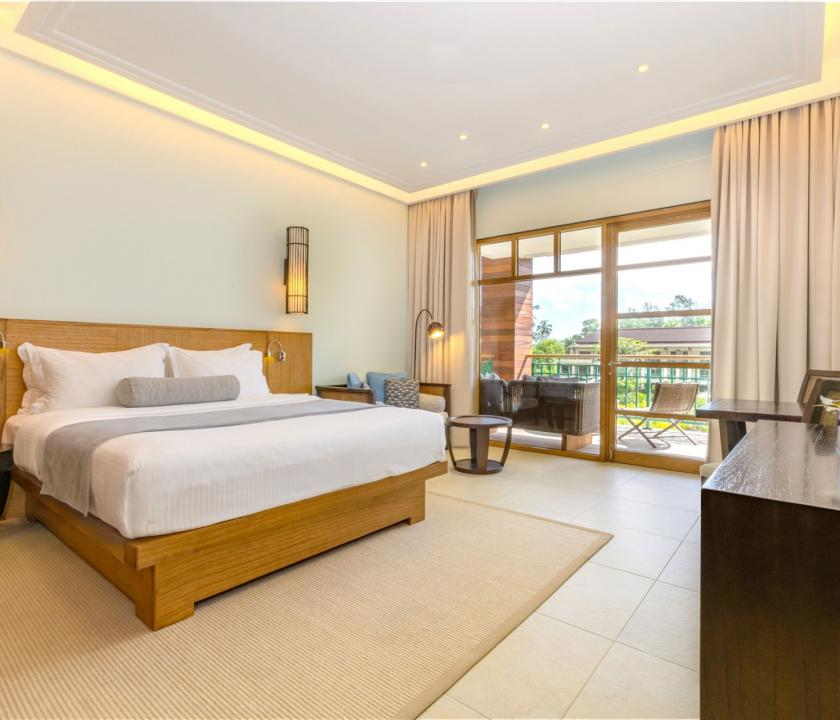 Savoy Resort & Spa / Savoy Ocean Side room - hálószoba (Seychelle szigeteki utazások)