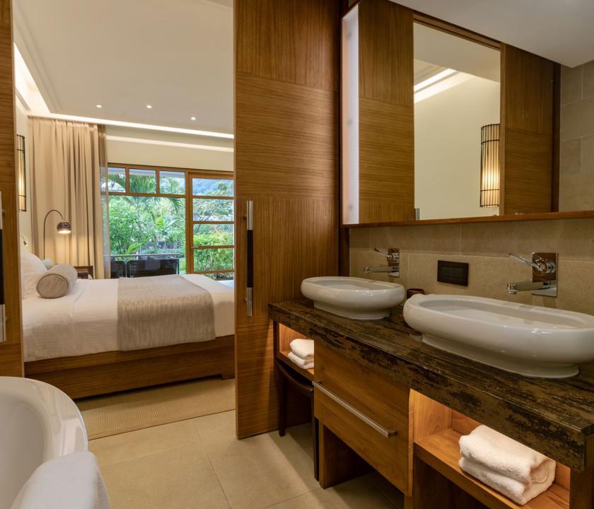 Savoy Resort & Spa / Savoy Standard room - fürdőszoba (Seychelle szigeteki utazások)