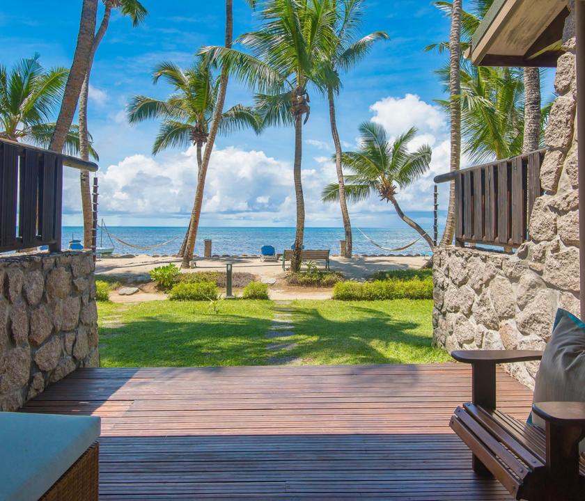 Coco de Mer Hotel & Black Parrot Suites / Superior room - terasz (Seychelle szigeteki utazások)